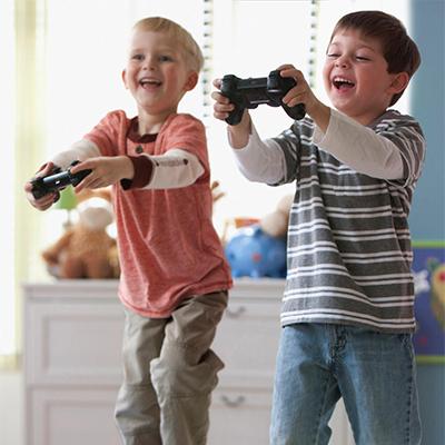 Gameverslaafd - gamende kinderen