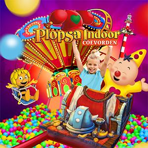 Dagje uit - Plopsa: kinderen in een attractie