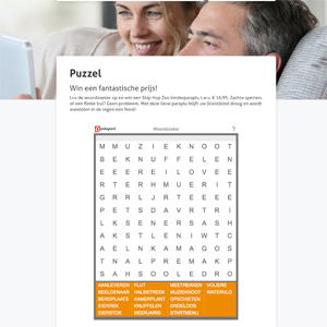 Puzzel website ledenvereniging