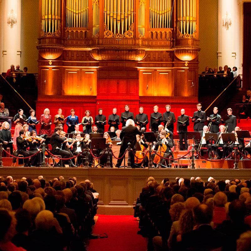 Concert in Het Concertgebouw