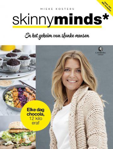 Afvallen en slank blijven met Skinnyminds - Omslag boek Mieke Kosters