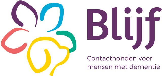 Huisbezoek ledenadviseur contacthond - logo Stichting Blijf