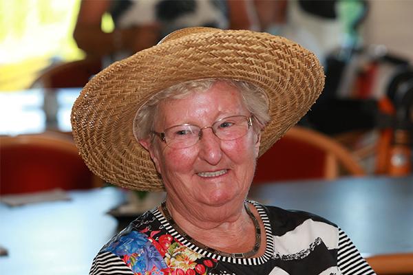 Vrouw met sombrero